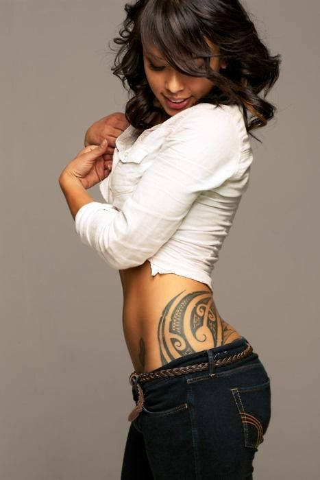 Tribal hip tattoo: next idea for a tat. Tribal's neat, but I want something with more meaning behind it.