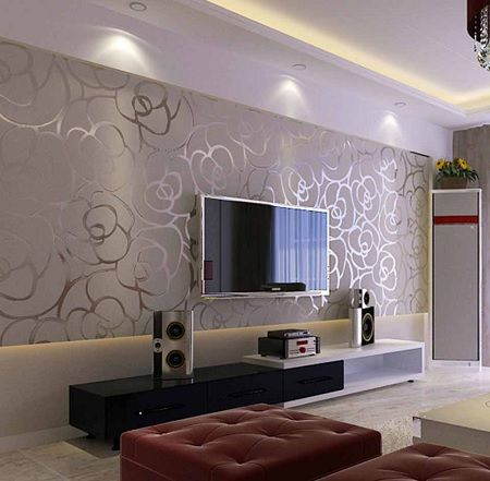 wallpaper designs for living room wall. home wallpaper design decoration idea 15 Wallpaper Designs  4 Concepts For Your Own Home 606 best Wonder Walls images on Pinterest Wall cladding
