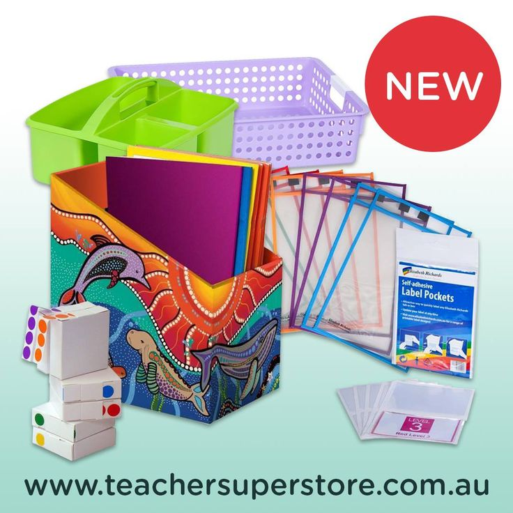 Elizabeth Richards School Supplies. Looking to get your classroom organised? Check out the full range of these fantastic products online.