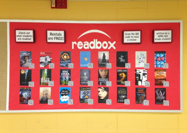 Readbox (c) Kristen Dembroski - scan the QR code to link directly to a student-written book review