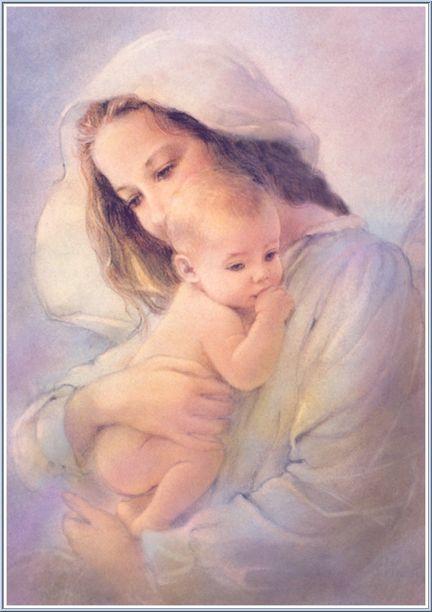 Madre Mía María, condúceme este día por el camino de tu hijo, para que cada vez sean más los que a través de mi conozcan Su amor. Gracias Madre por escuchar nuestras súplicas y nunca abandonarnos por el camino.