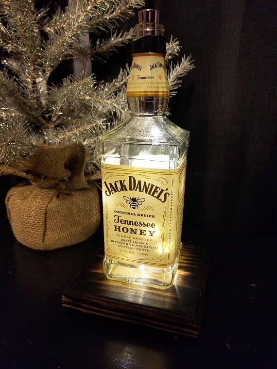 43 best Liquor Bottle Lamps images on Pinterest | Bar ideas ...