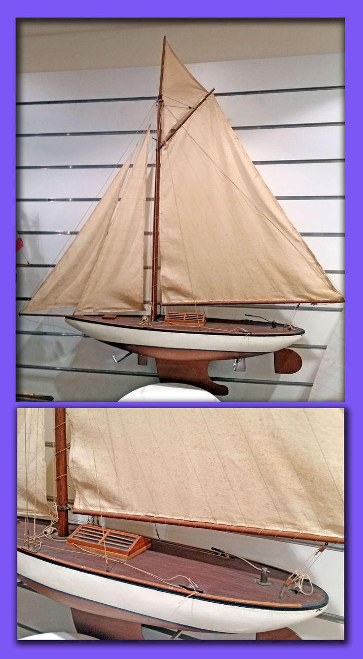 CLASSIC YACHT GAFF TOPS'L 1940'S $1,250
