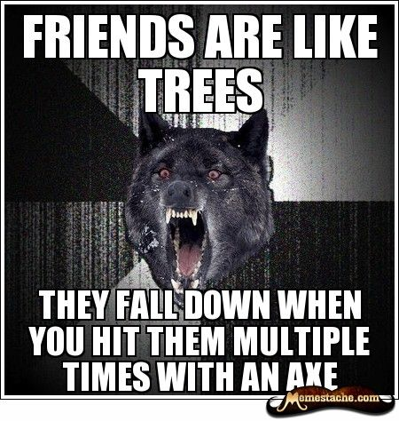 insanity wolf meme | ... them funny here are 10 of the best examples of the insanity wolf meme