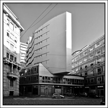 Corso italia milan italy 1956 by luigi moretti for Corso arredatore d interni milano