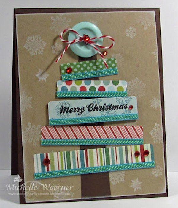 M s de 20 ideas incre bles sobre postales navidad - Manualidades postales navidad ...