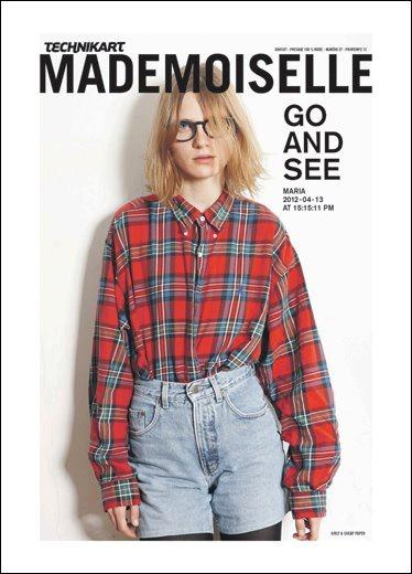 Technikart Mademoiselle N°27 - The Go and See Issue. Printemps 2012 - Photo : Tobias Zarius