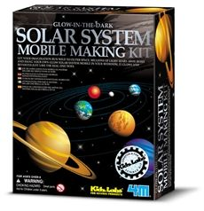 Universeum science discovery store, 4M Solar system mobile making kit