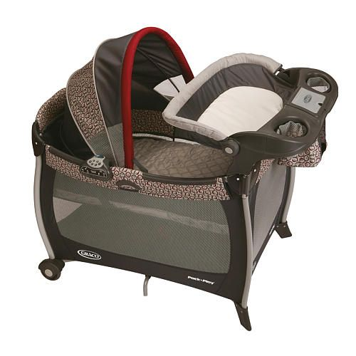 Graco Pack N Play Silhouette Play Yard We Used This As