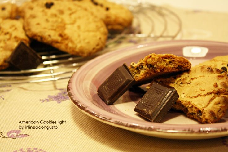 American cookies in versione light