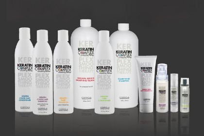 Comparison of keratin treatments: No. 1: Keratin Complex by Coppola