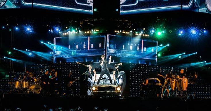 Ricky Martin actúa en el Bizkaia Arena de BEC! el 14 de mayo en su gira 'One World Tour'