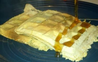 Homemade Waffles (No milk recipe)