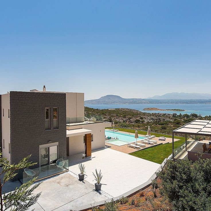#gateview #villaalas #luxuryvilla #chania #seaview