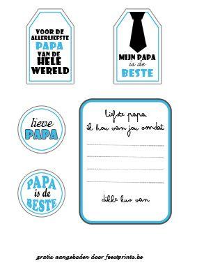 Gratis vaderdagprints in het Nederlands!