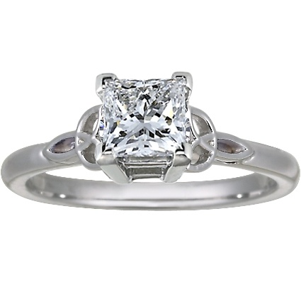 Engagement ring: Pretty Bands, Trinity Knot, Knot Rings, Celtic Design, Future Husband Y, Engagement Ring, Celtic Knot