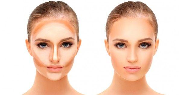 Коррекция лица - контурирование, скульптурирование. Техника и правила нанесения макияжа — BLOG «BODYCARE»