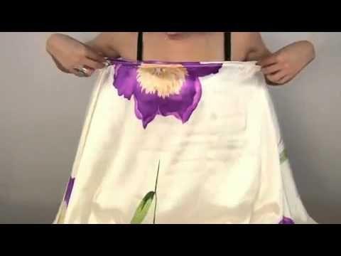 Сшить шикарное платье. - YouTube