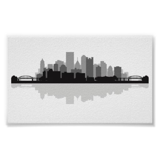 Pittsburgh Skyline Print - I want it