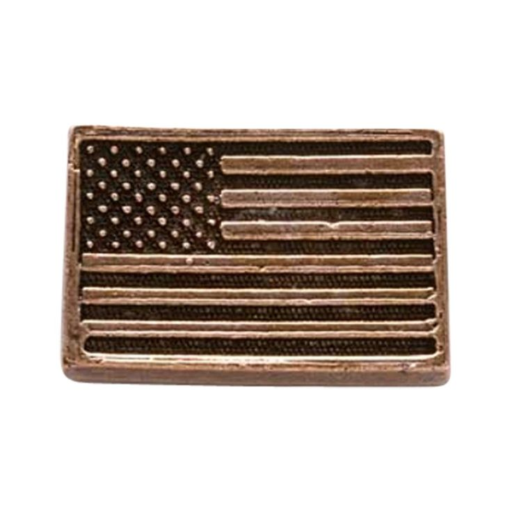 Creative Pewter Designs, Pewter American Flag Lapel Pin Brooch, Copper Plated, AC170 ** To view further for this article, visit the image link. #JewelryDesign