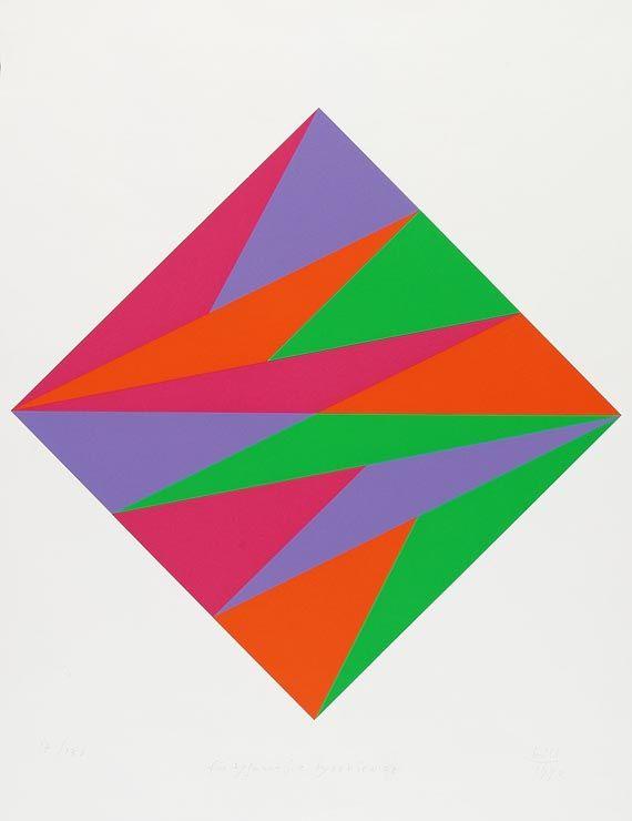 Max Bill - Abstrakte Komposition