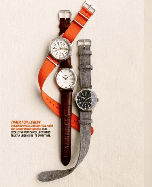 Wrist Watches | J Crew | #Editorial #StillLife