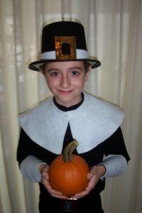 Homemade Pilgrim Costume for Boys
