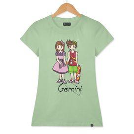 "Gemini among the stars - series of T-shirts ""Polaris""  Pagina Facebook: https://www.facebook.com/Stampeoroscopo/"