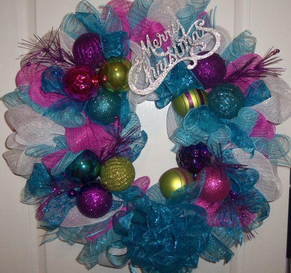 Clearance Christmas Wreath Holiday Wreath by ...