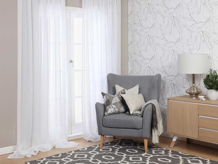 If heavy drapes and curtains aren't your thing, voiles and sheers are a great no-fuss, fashion-forward option, providing your room with natural light as well as privacy.