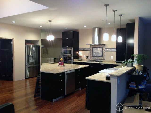 17 Best images about Black Kitchens and Cabinets on Pinterest ...