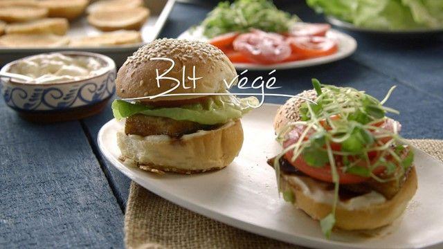 BLT végé | Cuisine futée, parents pressés
