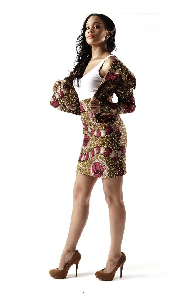 Ankara Clothings // Full Blazer Suit  nice