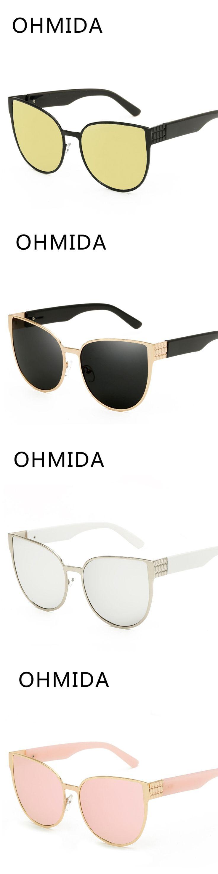 OHMIDA Hot Sale Pilot Sunglasses Men Sport Polarized Vintage Luxury Brand UV400 Glasses Women 2017 Eyewear gafas de sol mujer