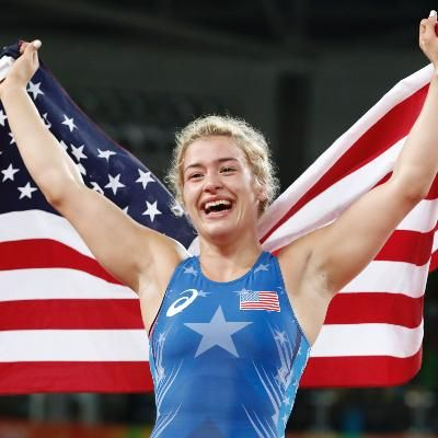 Helen Maroulis Wins First Gold Medal for U.S. in Womens Wrestling #Sports  Helen Maroulis Wins First Gold Medal for U.S. in Womens Wrestling She defeated 16-time world champion Saori Yoshida