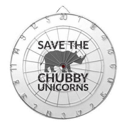 #Save the Chubby Unicorns Dartboard - #funny #unicorn #unicorns #horse #horses #magical #colourful #fantasy