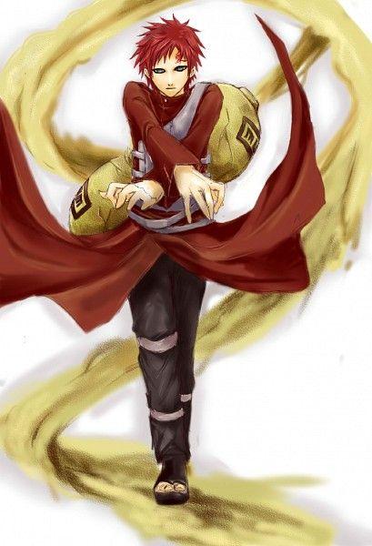Naruto // Gaara of the Sand | NARUTO | Pinterest
