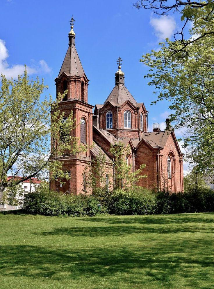 Vaasa Orthodox Church, St. Nicholas Church. - Vaasan Ortodoksinen Pyhän Nikolaoksen kirkko.