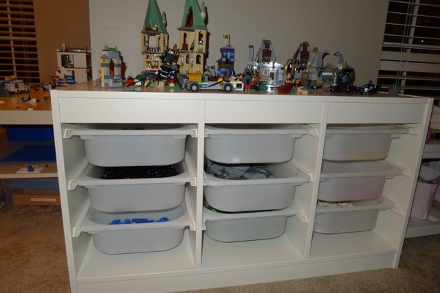 Love the instruction book binder though the rest wouldn't work for us. How to Store Legos?