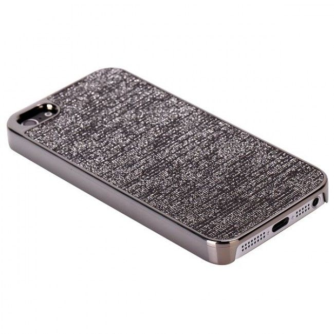 Monarco Chrome (Harmaa) iPhone 5S Suojakuori - http://lux-case.fi/monarco-chrome-harmaa-iphone-5-suojakuori.html