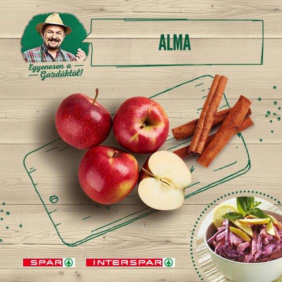 Nem véletlen, hogy az édenkertben ebből lett a legnagyobb balhé; ellenállhatatlan gyümölcsünk! ;) A céklával izgalmas párost alkotnak: http://www.spar.hu/hu_HU/spar_chef/receptek/salata/almas_ceklasalata.html