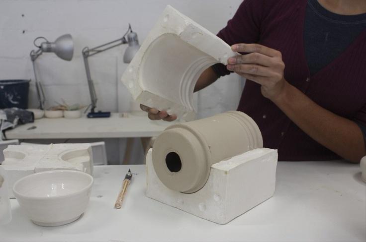 Desmoldando la porcelana
