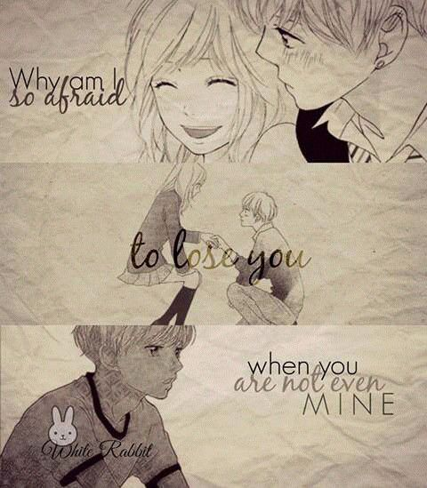 Manga Quotes - Ao Haru Ride