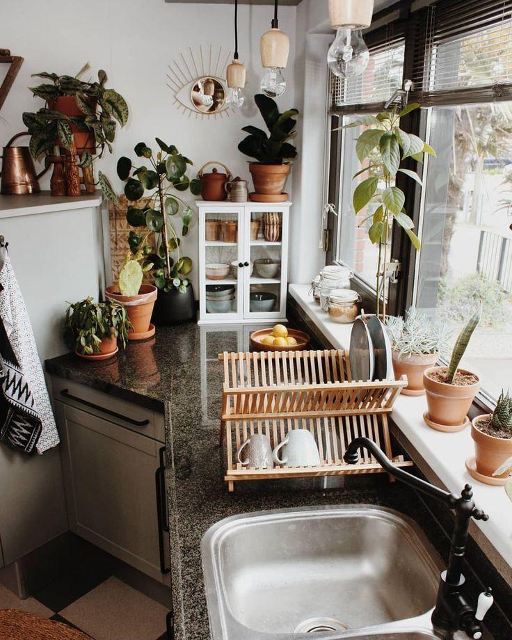 Guten Morgen! Ich bin immer noch damit beschäftigt, die Küche zu renovieren. De …   – Bohemian Dekoration