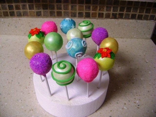 Cakepops for Christmas — Christmas
