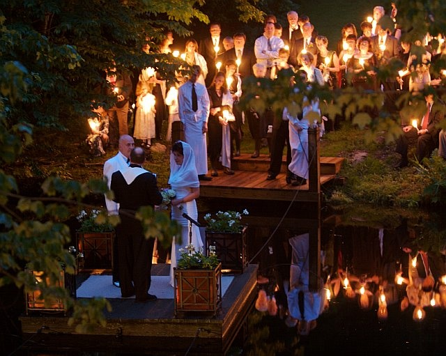 1000+ Images About Outdoor Night Wedding Ceremonies On