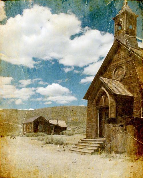 Methodist Church in Bodie, California