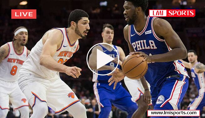 New York Knicks Vs Philadelphia 76ers Philadelphia 76ers New York Knicks Nba New York