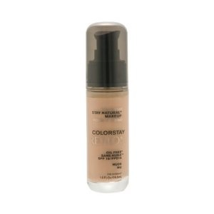 Revlon ColorStay Stay Natural Makeup Oil Free SPF 15 Foundation Makeup - this is amazing. I might not use any other foundation after this.
