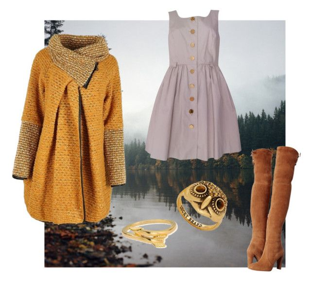 """""""Fall/Winter Collection #1"""" by anniesaenz on Polyvore featuring Stuart Weitzman, Orla Kiely, Lucky Brand and ChloBo"""